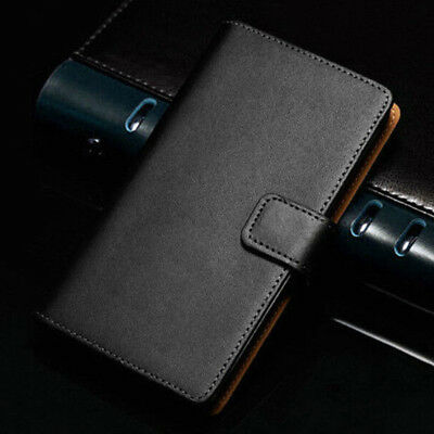 AU6.48 • Buy Genuine Leather Wallet Case Card Flip Cover For OnePlus 2 3T 5T 6T 7T Pro 8 Pro