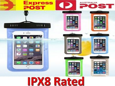 AU7.40 • Buy Waterproof SandProof Bag Underwater Pouch Dry Case Cover For IPhone Samsung S20