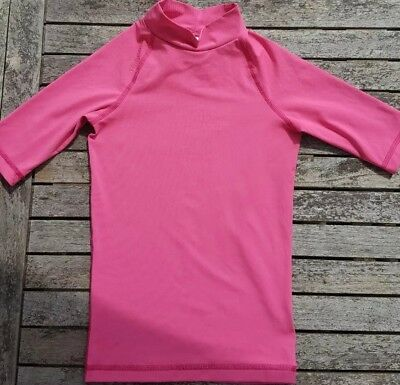 Tribord Pink Uv Protection Sun Top. Age 8 Years. • 4.99£