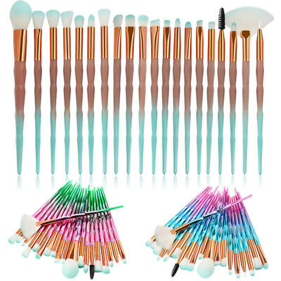 AU10.37 • Buy 20PCS Unicorn Diamond Makeup Brushes Set Foundation Powder Eye Shadow Brush Tool