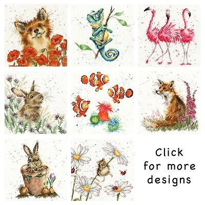 Bothy Threads ~ Counted Cross Stitch Kits ~ Hannah Dale ~ Animals ~ Wrendale • 20.15£