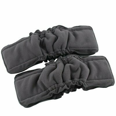 AU7.99 • Buy Bamboo Charcoal Baby Cloth Nappy Inserts With Gusset