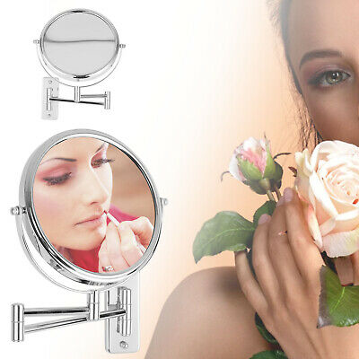 £11.99 • Buy Round 2-Side 3X Extending Magnifying Mirror Makeup Bathroom Shaving Mirror Wall