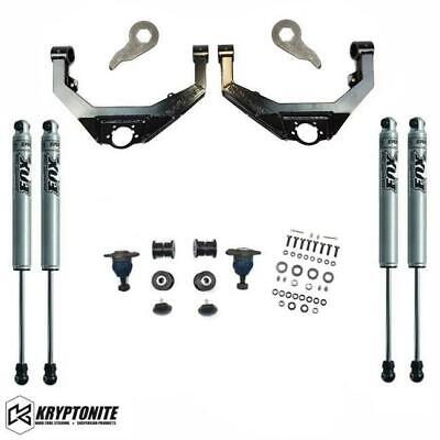 $1149.99 • Buy Kryptonite Stage 3 Leveling Kit With Fox Shocks For 01-10 Chevy/GMC 2500HD 3500