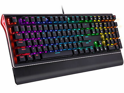 AU77.26 • Buy Rosewill RGB Mechanical Gaming Keyboard, Kailh Blue Switches, NEON K85