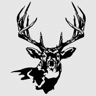 $14.99 • Buy Truck Window Deer Decal Hunting Buck Archery Sticker For Hoyt Browning PSE