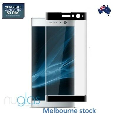 AU7.99 • Buy Tempered Nuglas Glass Screen Protector Sony Xperia XZ2 Compact XA1 XA2 Ultra