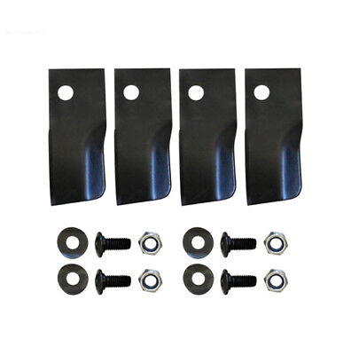 LAWN MOWER BLADES KIT FOR LATE MODEL ROVER MOWERS 50mm*120mm • 11.24£