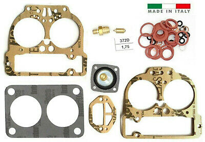 $ CDN36.09 • Buy WEBER 40/42/44 DCNF Carburetor Repair Kit  Fits 4bolt Or 5bolt Top Made In Italy