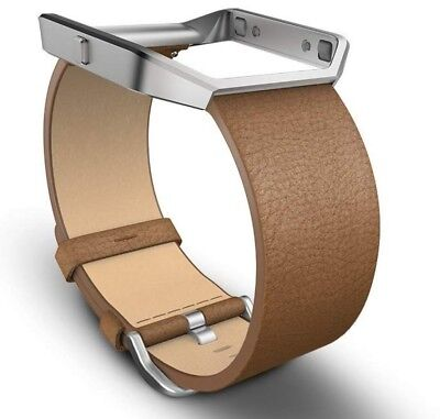 AU26.10 • Buy (R1) Fitbit Blaze Accessory Band, Leather, Camel, Small S/P