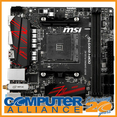AU269 • Buy MSI AM4 Mini-ITX B450I GAMING PLUS AC DDR4 Motherboard