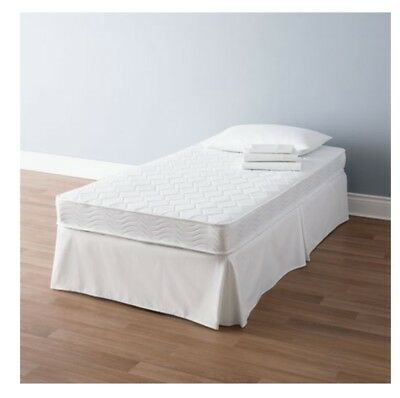 $ CDN189.99 • Buy Twin Coil Mattress Mainstay 6-inch Innerspring White For Cheap