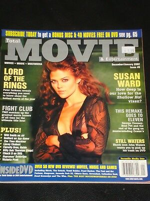 $ CDN24.99 • Buy TOTAL MOVIE Magazine #6 2002, Susan Ward, Lord Of The Rings, Fight Club, RARE