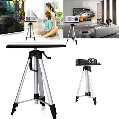 AU43.87 • Buy Portable Tripod Adjustable Stand Tray For Projector Notebook Aluminium 55-150cm