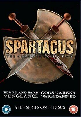 £28.99 • Buy Spartacus: The Complete Collection (DVD) Liam McIntyre, Andy Whitfield