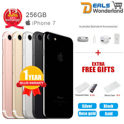 AU419.95 • Buy New Apple IPhone 7 256GB 4G LTE Multi Colours Factory Unlocked In Sealed Box
