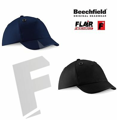 Beechfield Unisex Bump Cap-Safety/Protection Hat-Adults Headwear-Cotton • 10.38£