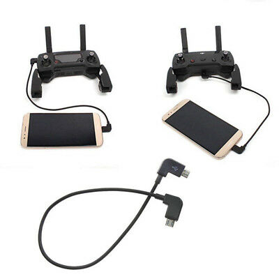 AU2.61 • Buy 90° Micro USB Cable Type C OTG 25cm For DJI Spark Mavic Pro Pad Phone Android