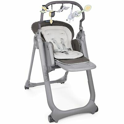 Chicco Polly Magic 3 Mode Baby / Child Feeding High Chair Anthracite 0 - 3 Years • 144£