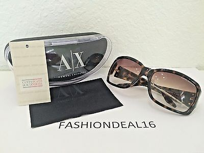 a9b6a3b6a73d New Armani Exchange Tortoise Gold AX084 S V08 73 Sunglasses • 49.99