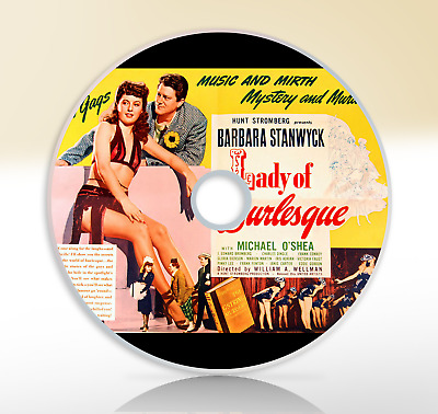 £2.75 • Buy Lady Of Burlesque (1943) DVD Classic Mystery Film / Movie Barbara Stanwyck