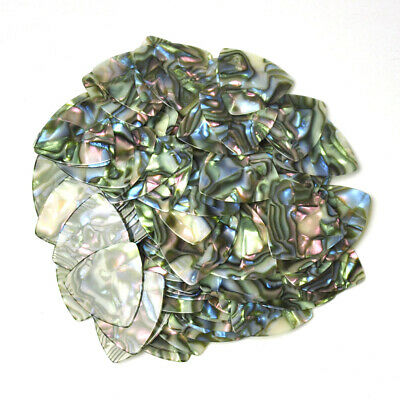 $ CDN18.67 • Buy Celluloid 346 Rounded Triangle Guitar Picks Plectrums 0.71mm 100Pcs Abalone