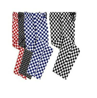 £12.99 • Buy Chef Trousers Chef Blue, Red, Black And White Check Chef Pants Uniform Unisex