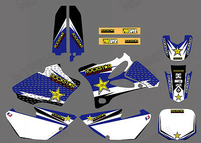 AU55.99 • Buy GRAPHICS Decals Sticker FOR YAMAHA YZ85 2002 2003 2004 2005 2006 2007-2014