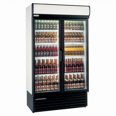 Staycold HD1140 Double Hinged Door Drink Display Chiller Fridge 1140Wx635Dx2020H • 1,699£