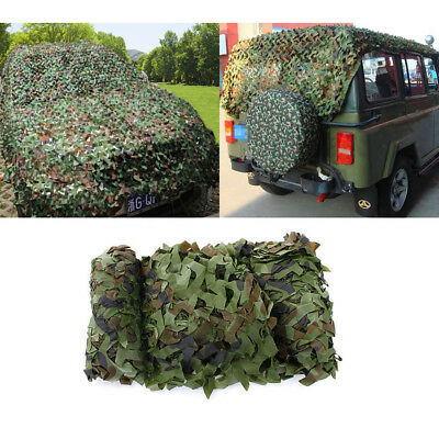 $17.99 • Buy Camouflage Netting Woodland Camo Army Green Net Military Camping Hunting Shelter