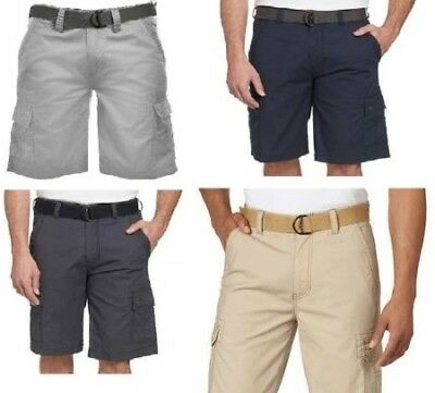 * FAST SHIPPING * TAN Select Size Wearfirst Men's Cargo Shorts