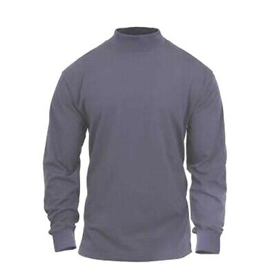 $20.99 • Buy Rothco Mock Turtleneck Military Army L/S Cotton Tactical Mens Shirt S To 4X