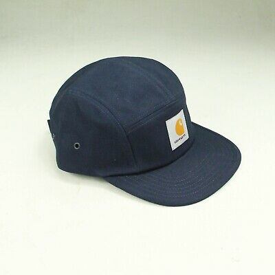 Carhartt Backley 5 Panel Cap – Brand New In Navy Blue One Size Fits All • 34.99£