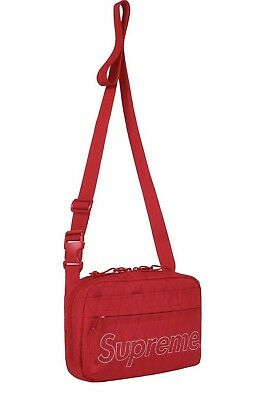 $ CDN250.89 • Buy New 100% Authentic Supreme Shoulder Bag Red FW18