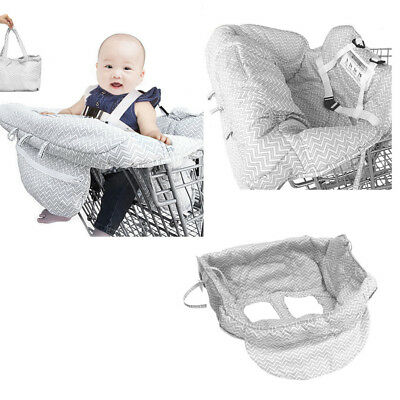 £19.37 • Buy Baby Shopping Cart Cushion Trolley Seat Chair Cover Travel Bag Protector