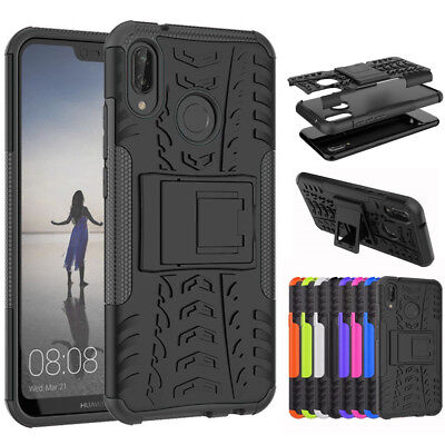 AU6.95 • Buy For NEW HUAWEI Y5 2018 & Y6 2018 Heavy Duty Tyre Tough Stand Phone Case Cover