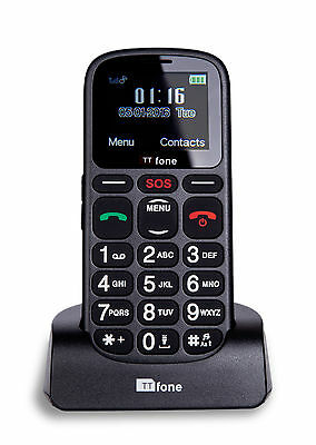 TTfone Comet Big Button Senior Emergency Mobile Phone Elderly EE Pay As You Go • 19.99£