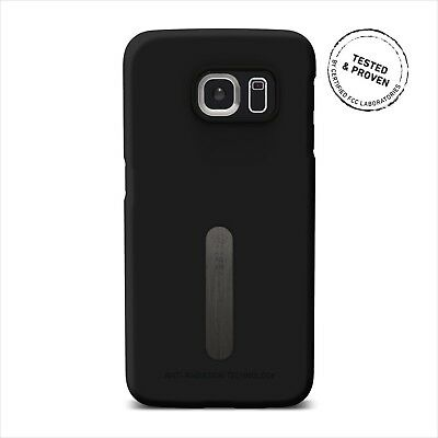 Vest Anti-Radiation Phone Case Cover Screen Protector For Galaxy S6 Edge - Black • 21.86£