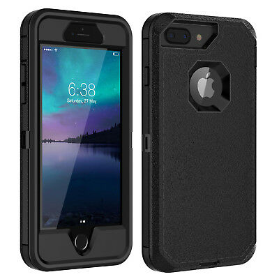 AU18.49 • Buy For IPhone 6 6s 7 8 Plus Case W/ Screen Protector Series Fits Defender Belt Clip