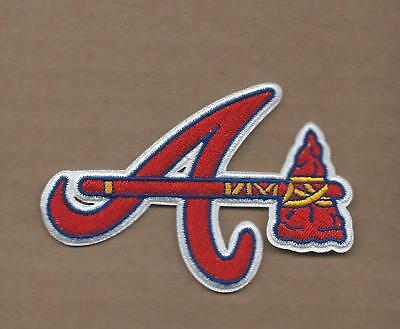 Atlanta Braves A Baseball Sport Embroidery Patch logo iron,sewing on Fabric