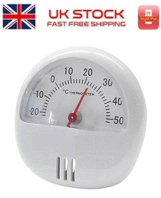 Magnetic Thermometer With Stand For Room Fridge Temperature Gauge Dial Shed • 2.49£