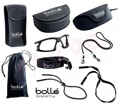 £7.69 • Buy Bolle Safety Glasses Goggles Protection Case Pouch Adjustable Cord Eye Accessory