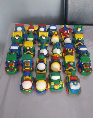 Large Bundle Of Childrens 28 Friction Vehicles And Free Ikea Rug 39×52 Inches • 20£