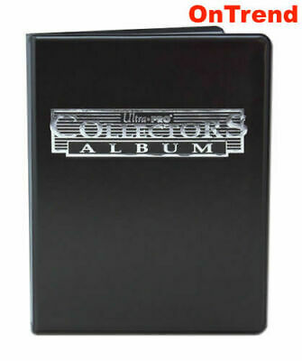 AU18.85 • Buy Ultra Pro Black Collectors A4 Album Portfolio Folder 9 Pocket 10 Pages Holds 180