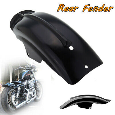 Universal Rear Fender Mudguard Motorcycle Accessory For Harley Bobber Chopper • 14.59£