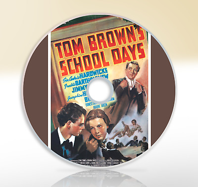 Tom Brown's School Days (1940) DVD Classic Drama Film / Movie Cedric Hardwicke • 2.51£