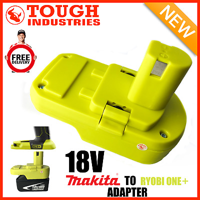 AU63.99 • Buy Makita Battery Adapter To Ryobi 18v One+ Works With Ryobi 18v One+ Tools
