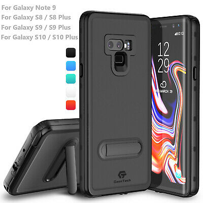 $ CDN21.59 • Buy For Samsung Galaxy Note 10 9 S8 S9 S10 Plus Life Waterproof Case With Kickstand