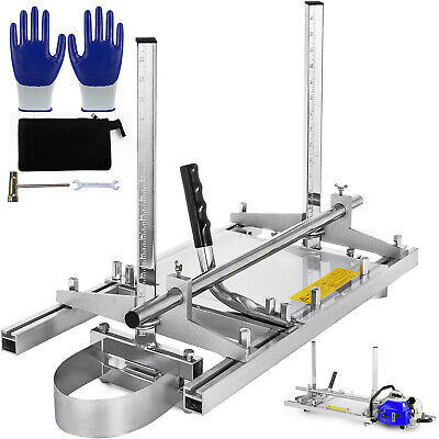 £51.54 • Buy 14 - 24  Chainsaw Mill Guide Bar Planking Lumber Cutting Chainsaw Tool Timber