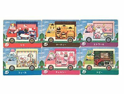AU393 • Buy Nintendo Amiibo Japan Animal Crossing Sanrio Collaboration All 6 Set + Random 3